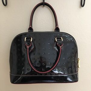 ARCADIA Italian Made Patent Leather Handbag